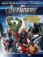 The Avengers: A Mighty Sticker Book Sticker-Activity Storybook, A