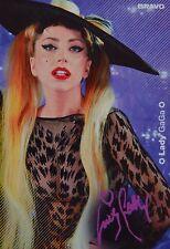LADY GAGA - Autogrammkarte - Signed Autograph Autogramm Fan Sammlung Clippings
