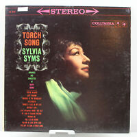 Torch Song Sylvia Syms Vintage Vinyl Record LP VG+ CS 8243