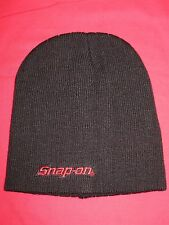 SNAP ON TOOLS BLACK BEANIE HAT BRAND NEW