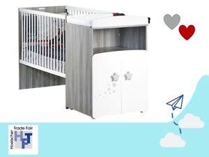 Baby Price by Sauthon: Kinderzimmer Babyzimmer umbaubar - Bett / Kommode Schrank