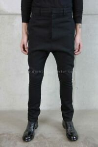 *NWT* DEEPTI BARTH LOW CROTCH MEMBRANE TROUSERS POELL $1030 (BLACK 46 48)