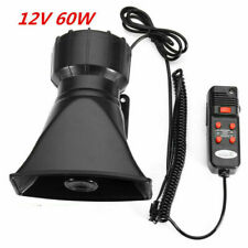 300DB Loud 12V Car Truck Snail Horn Air Horns Raging Sound Black Electric Boat