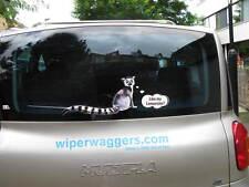 WAVING WIPER WAGGER NOVELTY GIFT LEMUR FOR THE CAR REAR WINDSCREEN WIPER