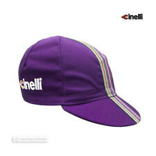 NEW Cinelli CIAO Collection Cycling Cap : PURPLE - Made in Italy!