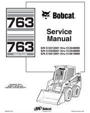 BOBCAT 763 MANUAL SERVICE MANUAL  HD QUALITY PDF