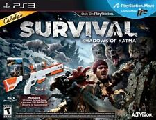 Cabelas Survival: Shadows of Katmai w/ Gun, PS3 -Survival Game by Activision