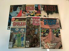 Lot of 7 Justice League International #18 24 America #26 27 28 29 30 Dc Comics