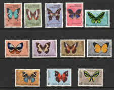 "Papua & New Guinea, 1966 ""Butterflies"" complete set of 12 sg82/92 m/m."