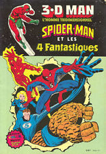 Artima / Arédit  3.D MAN L'homme Tridimensionnel Spiderman et les 4 fantastiques