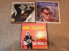 Lot of 4 Track Reel To Reel Tapes Hank Williams, Frank Sinatra, Ray Charles.