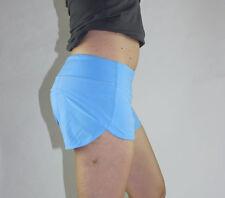 Lululemon Speed Short Size 8 Aero Blue NWT Gym Running Crossfit Shorts NEW