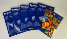 Brother Premium Plus Glossy Photo Paper BP71GP20 10x15cm 260gsm 103 X SHEETS