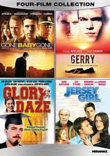 Ben & Casey Affleck 4-Film DVD Set Gone Baby Gone/Gerry/Glory Daze/Jersey Girl