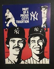 Ron Guidry Whitey Ford Lopat Cardboard Sign Budweiser City's Tradition Yankees