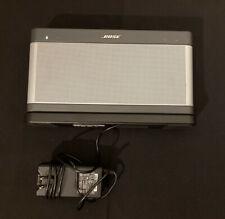 Bose SoundLink Bluetooth Speaker III 414255 VeryNice W/ charger + Sit On Charger