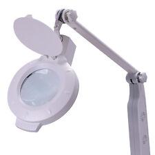Lupenlampe LED Lampe Lupe 5 Watt Kosmetikstudio Lupenleuchte Tischhalterung
