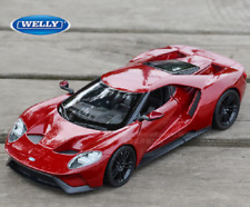 Welly 1:24 2017 Ford GT Concept Diecast Model Sports Racing Car Vehicle Red
