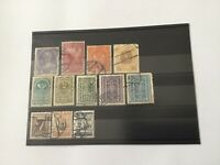 Autriche Lot De 12 Timbres Poste Oblitérée 1908/25