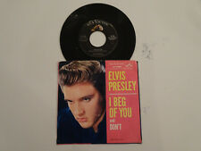 """VG+ Elvis Presley Don't/I Beg Of You 45 7"""" ORIG. 1958 RCA w/ PIC. SLEEVE! Creole"""