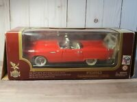 Road Legends 1955 Ford Thunderbird Convertible 1:18 Scale Diecast '55 Car Red