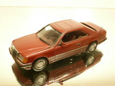 MINICHAMPS MERCEDES BENZ 300 CE - REDBROWN METALLIC 1:43 - VERY GOOD CONDITION