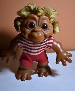 Vintage 1960/1968 Maybe? Monkey Boy-7 Dam Troll Doll Very Rare