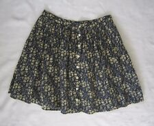 STEVEN ALAN Floral Buttons Front Mini Skirt ~ Print by Liberty of London Size 2