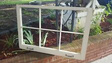 SASH ANTIQUE WINDOW PICTURE FRAME PINTEREST WEDDING 6 PANE 36x24 with HARDWARE