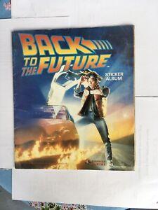 Vintage Back To The Future Sticker Album Book