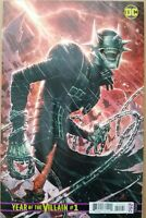 1:500 COVER VARIANT DC Year of the Villain #1 BATMAN WHO LAUGHS By Jim Cheung!