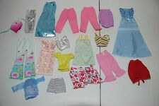 Mattel Vintage Barbie Accessories Lot with Clothes & Furniture