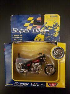 Rare Motor Max SUPER BIKES Kawasaki Virgo Die-cast Model Toy