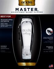 ANDIS MASTER® ADJUSTABLE BLADE CLIPPER #: 01557, UPC 040102015571 , MADE IN USA