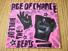 """AGE OF CHANCE - BIBLE OF THE BEATS    7"""" VINYL PS"""