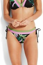 Seafolly Havana Skirted Hipster Bikini Brief Blue Red Floral UK Sizes 8 10 NEW