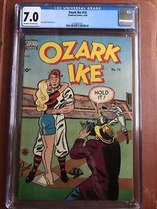 Ozark Ike 15 CGC 7.0 OW/W Standard Gotto GGA Headlights Rare SWEET Sole Census