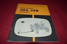 John Deere 310-H 310-M Mower Operator's Manual YABE8