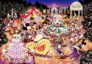 Disney Mickey Minnie Glow in the Dark Jigsaw Puzzle Night Wedding Dream 1000pcs