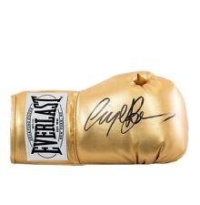 Nigel Benn Signed Boxing Glove - Gold Everlast Autograph