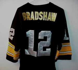 TERRY BRADSHAW PITTSBURGH STEELERS JERSEY NEW WITH TAG
