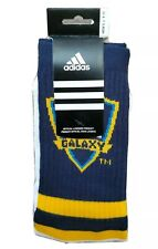 Adidas MLS Los Angeles LA Galaxy Crew Socks Mens Sz L NWT Soccer