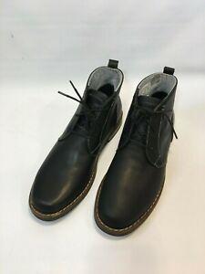 Penguin Merle Mens Leather Chukka Boot Black Size 10 MRSP$189