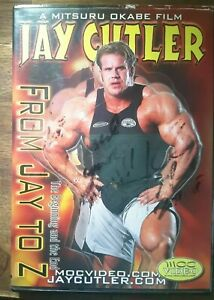 JAY CUTLER From Jay To Z DVD BODYBUILDING MR Olympia! - SIGNED BY JAY !