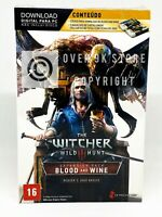 The Witcher 3 Wild Hunt Blood and Wine Download + Gwent Cards - PC - New