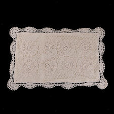 Handmade Crochet Lace Cotton Pillow Case Cushion Cover Home Sofa Room 13x22""
