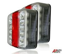 Rear Tail 5 Function Led Trailer Towing Lightboard Lights Board N.Plate Lamp