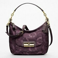 Coach Kristin Chainlink Metallic Lurex Hippie Bag/Purse/Hobo/Cross-Body 18295