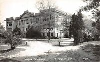 Georgia Ga Real Photo RPPC Postcard c1940s TIFTON High School Building