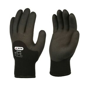 Skytec Argon Cold Handling Coated Thermal Liner Water Repellent Palm Grip Gloves